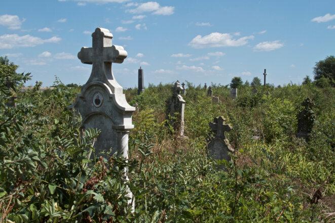 Le cimetière de Gakovo. © Laurent Geslin