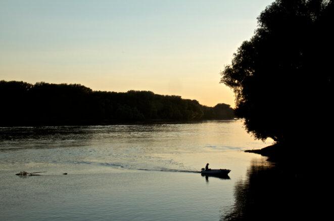 Le Danube en Voïvodine. © Laurent Geslin