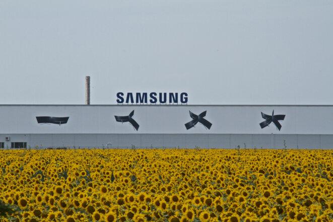 L'usine Samsung de Galanta, en Slovaquie © Laurent Geslin