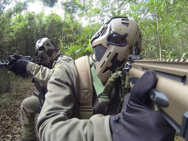 Devtac Ronin Kevlar Level IIIA Tactical Ballistic Helmet