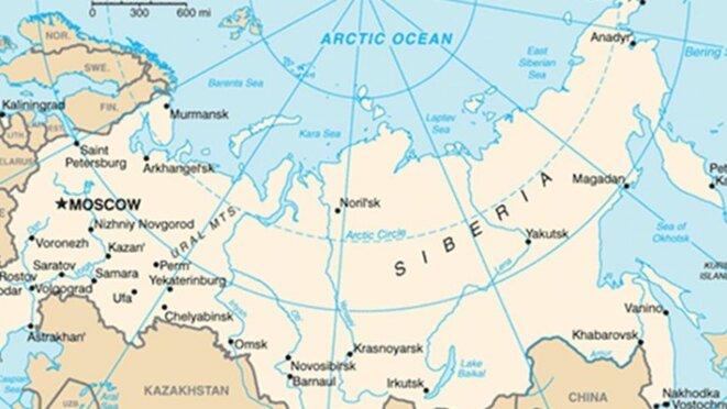 Russia. Source: CIA World Factbook.