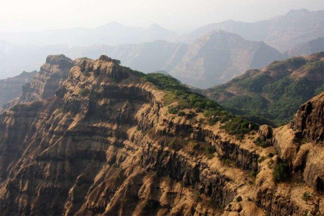 Les trapps du Deccan, en Inde, se sont formés il y a 66 millions d'années © Mark Richards