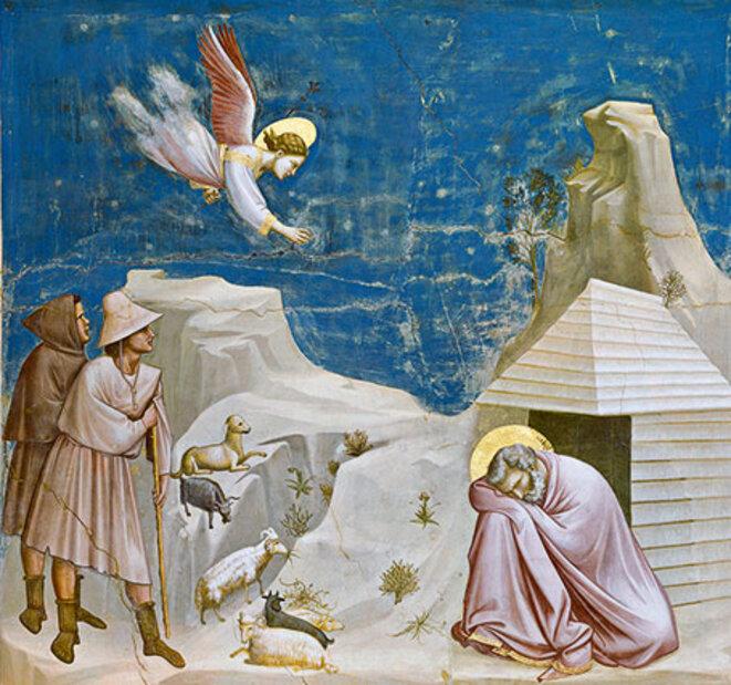 O BLEU     Giotto, le rêve de Joachim