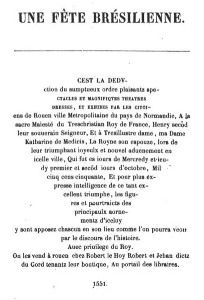 """Calligramme de la """"Deduction"""" (1551)"""
