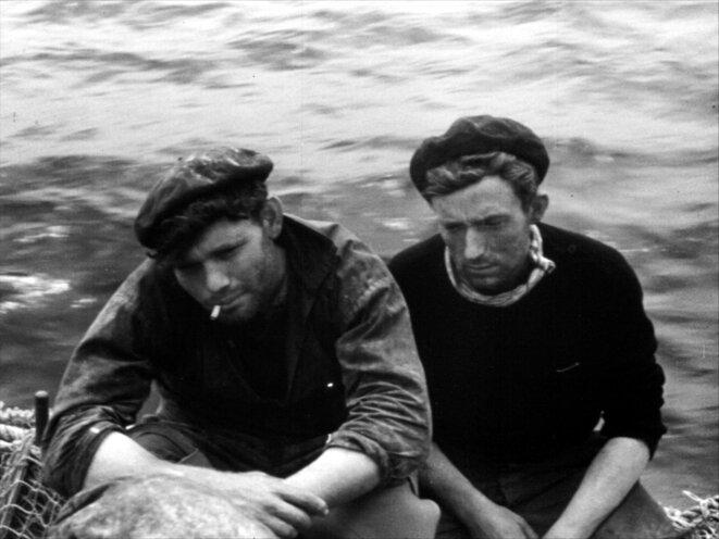 Les marins du chalutier Franc-Tireur, photogramme extrait de Mon ami Pierre (1951)