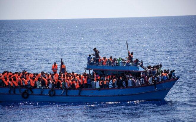 © Narciso Contreras/SOS Méditerranée