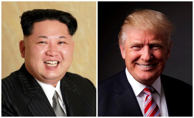 Kim Jong-un et Donald Trump © Reuters