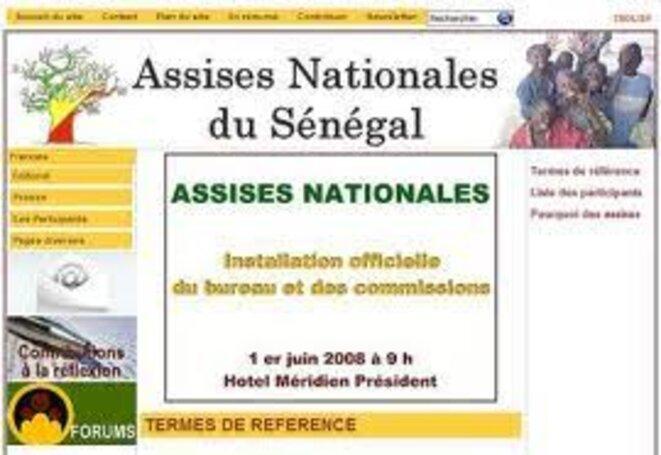 Assises Nationales du Sénégal