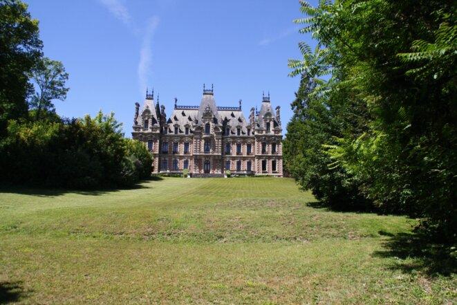 l'un des trois châteaux des anciens propriétaires Saint Frères