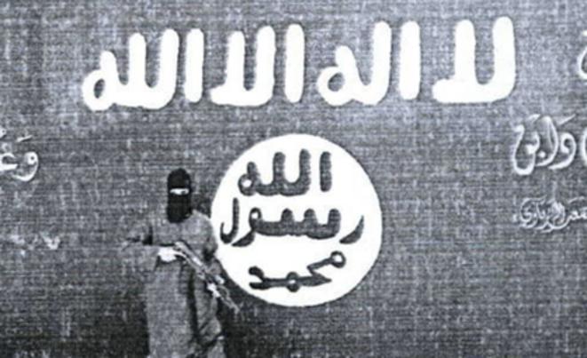 Un djihadiste à Al-Bab © DR