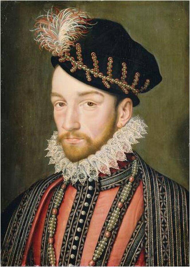 Charles IX, par François Clouet