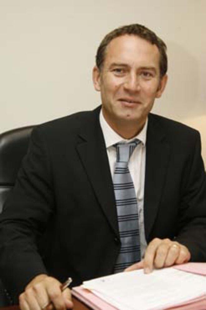 Christophe Haget, le chef de la division police judiciaire et commissaire principal à Monaco