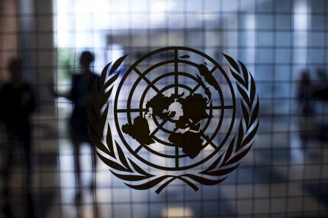 Inside United Nations headquaters in New York. © Reuters