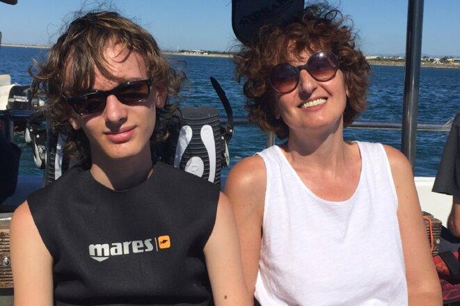 Théo et Valérie en méditerranée