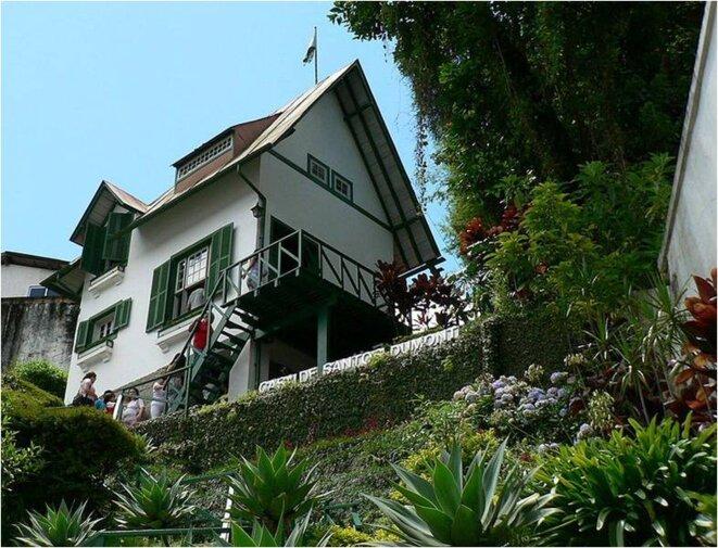 Petrópolis, Museu Casa de Santos Dumont