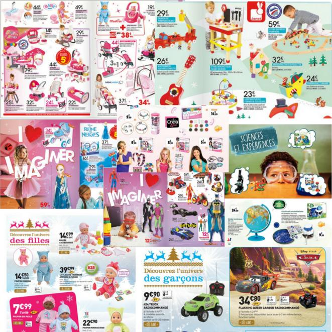 Images issues de catalogues de jouets 2016-2017 trouvés sur http://cataloguejouets.com/