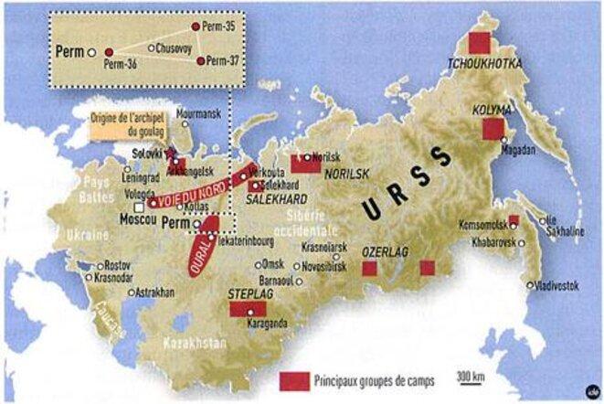 """Les camps du """"Goulag"""" soviétique"""