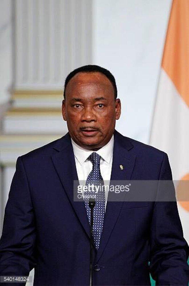 Président du Niger , Mahamadou Issoufou