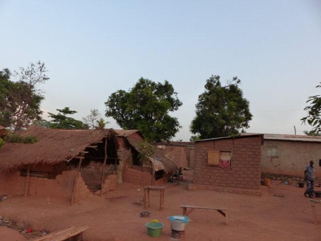 Le quartier Boy-Rabe, à Bangui © Valérie Thorin