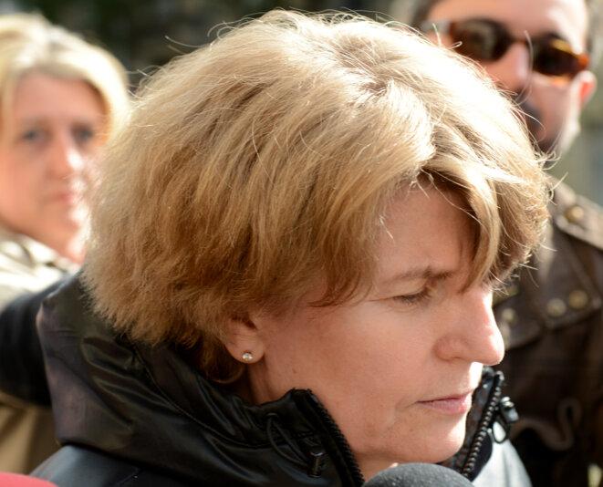 Claire Thibout, l'ex-comptable des Bettencourt, le 8 juin 2012 © Reuters