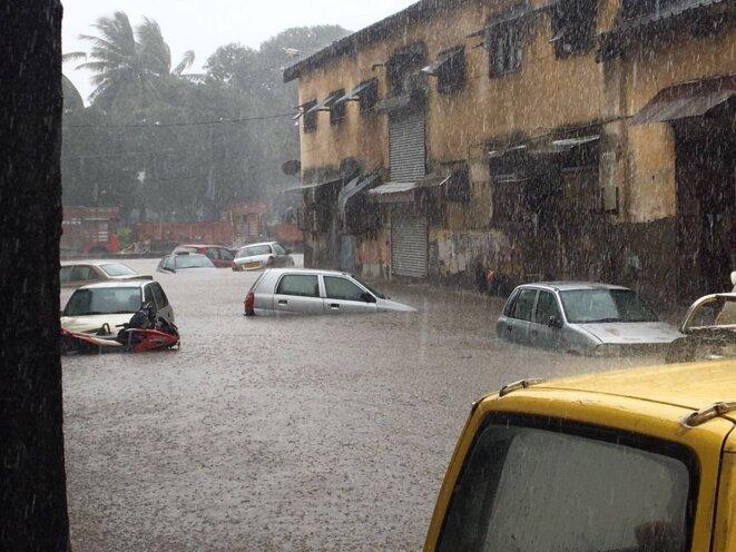 Bombay mardi 29 août 2017... © GD