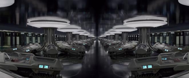 """Les modules d'hibernation dans """"Passengers"""" (2016)"""