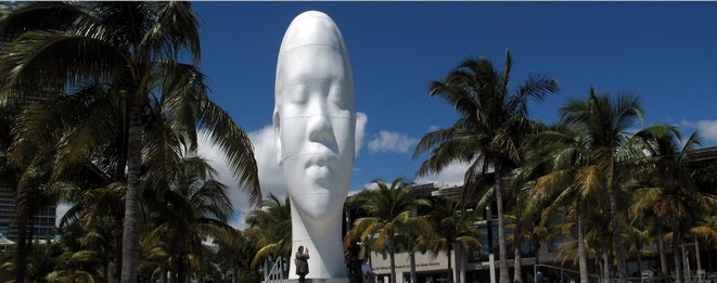 Looking into my Dreams, Awilda, 2012 PAMM-Pérez Art Museum Miami, 2016 [Photo site de Jaume Plensa]