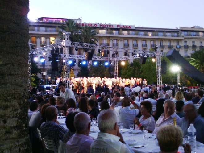 Discours du Maire de Nice Christian ESTROSI au Festin de Nice le 1er septembre 2017 © Didier CODANI
