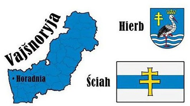Territoire, armoiries et drapeau de la Veïchnoria.