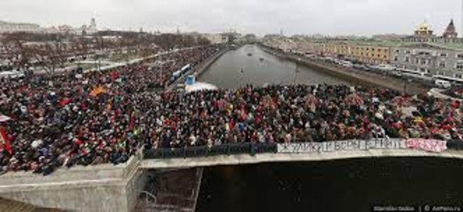 10 décembre 2011. Moscou, Bolotnaïa © AirPano.ry