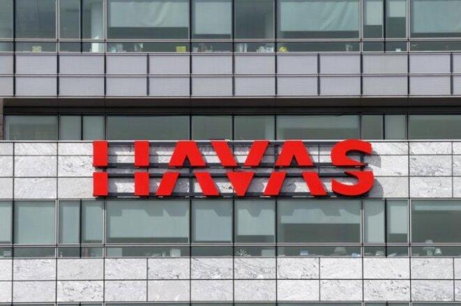 The Havas headquarters in France in the west Paris suburb of Puteaux. © Reuters