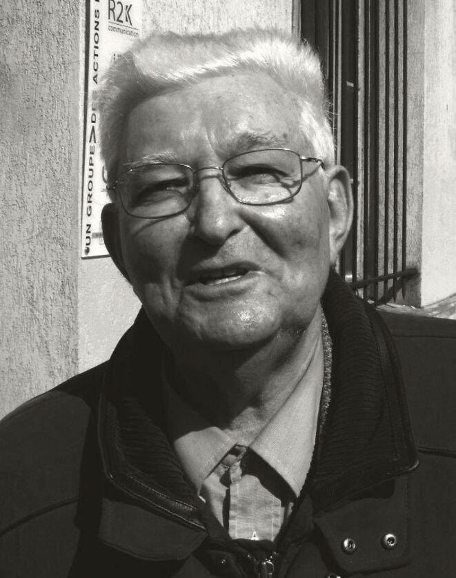 Charles Dobzynski en 2011. Photo de ©  Clément Moutiez..