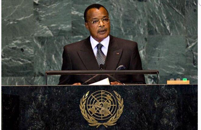Le Président congolais Sassou Nguesso s'engage dans un nouveau sacerdoce aux défis multiples. © Thierry Paul Valette