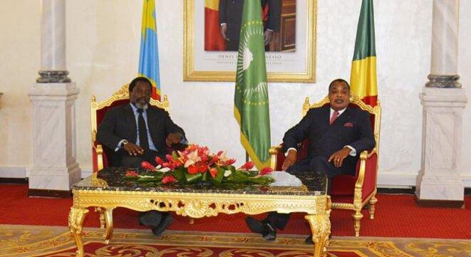 Le Président de la République a effectué, jeudi 07 septembre 2017, une visite de travail de quelques heures à Brazzaville