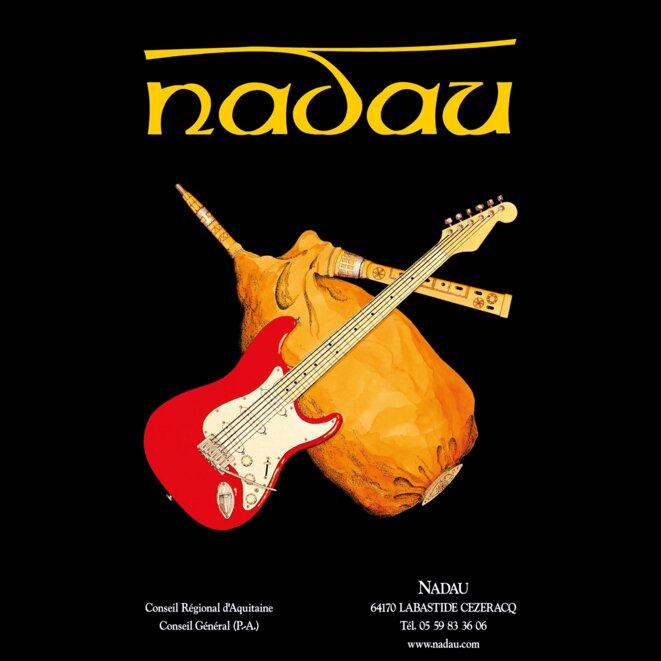 Nadau, groupe de musique gascon-béarnais créé en 1973 © Nadau