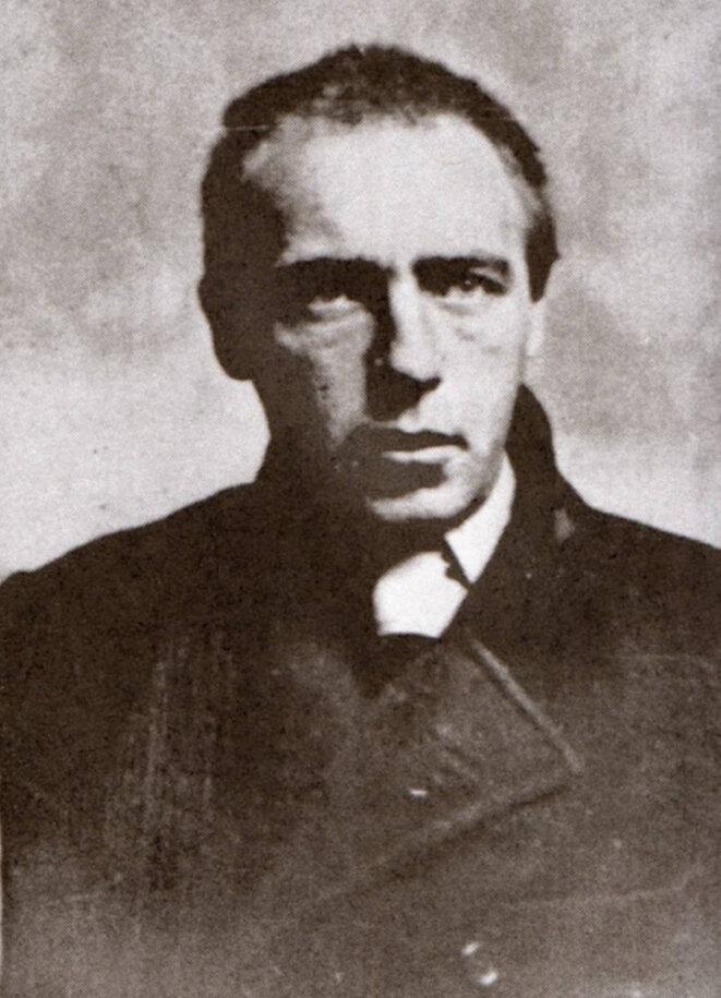 Portrait de Vélimir Khlebnikov © dr