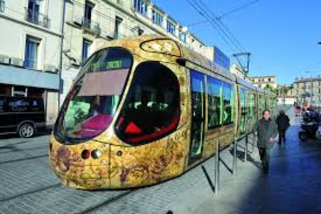 Tram de Montpellier © Google images