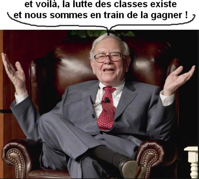Warren Buffet [montage YF]