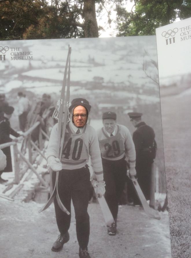 Au Musée olympique de Lausanne, été 2017...