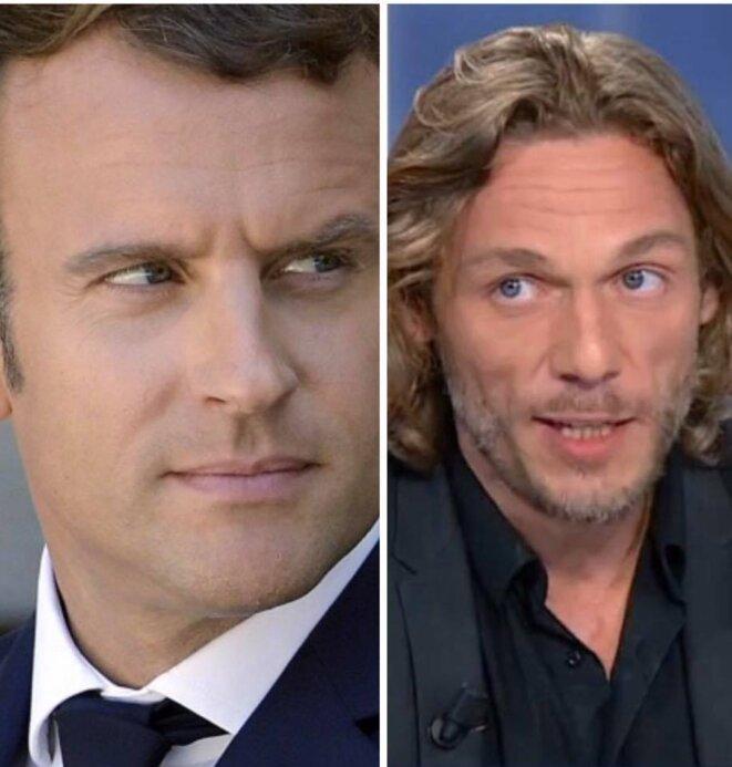 Thierry Paul Valette , Emmanuel Macron qui souhaite supprimer l'ISF