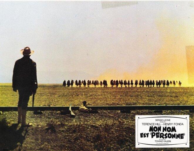 Jack Beauregard face à la Horde sauvage, Mon nom est Personne, 1973 © Tonino Valerii