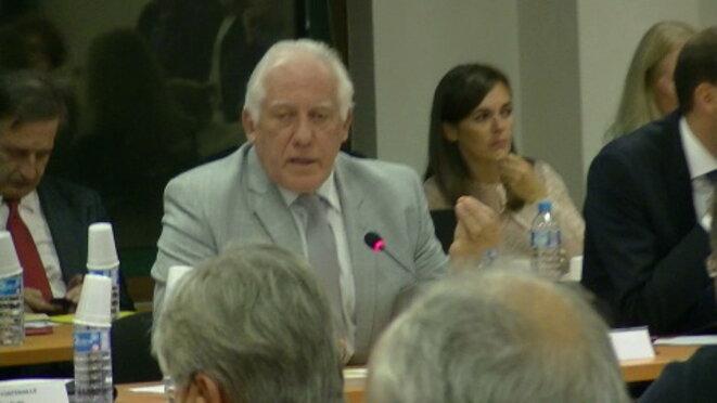 Michel Bournat, président de la Communauté d'agglomérations Paris-Saclay