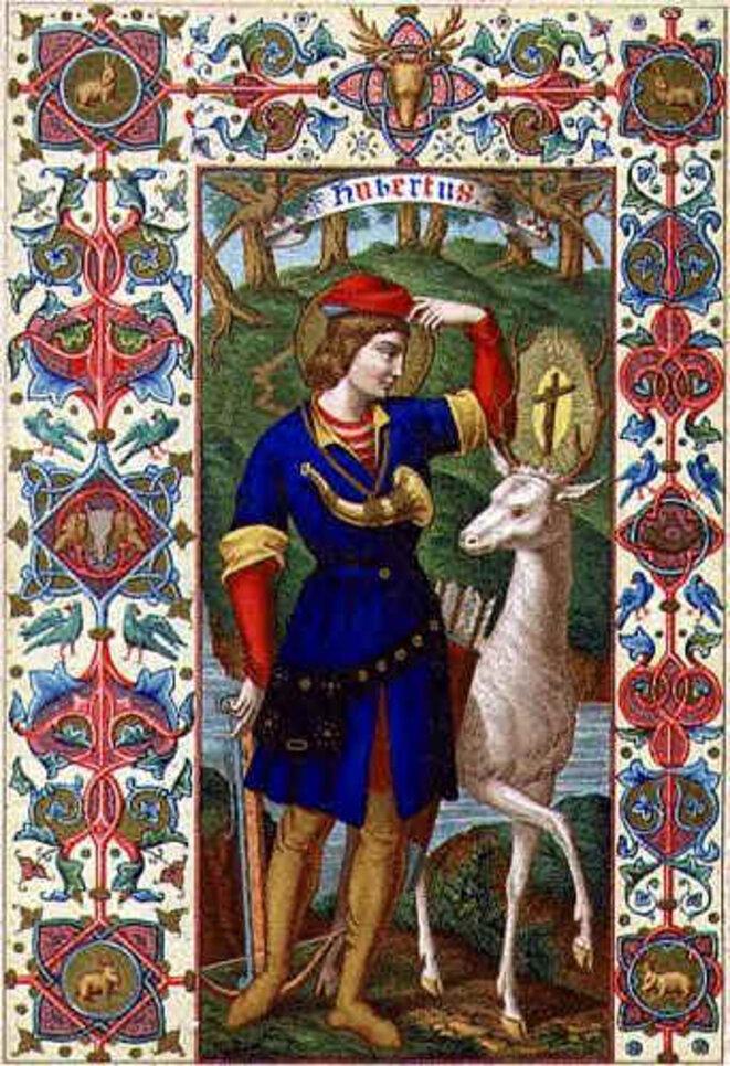 Saint Hubert, patron des chasseurs. Et Uber ?