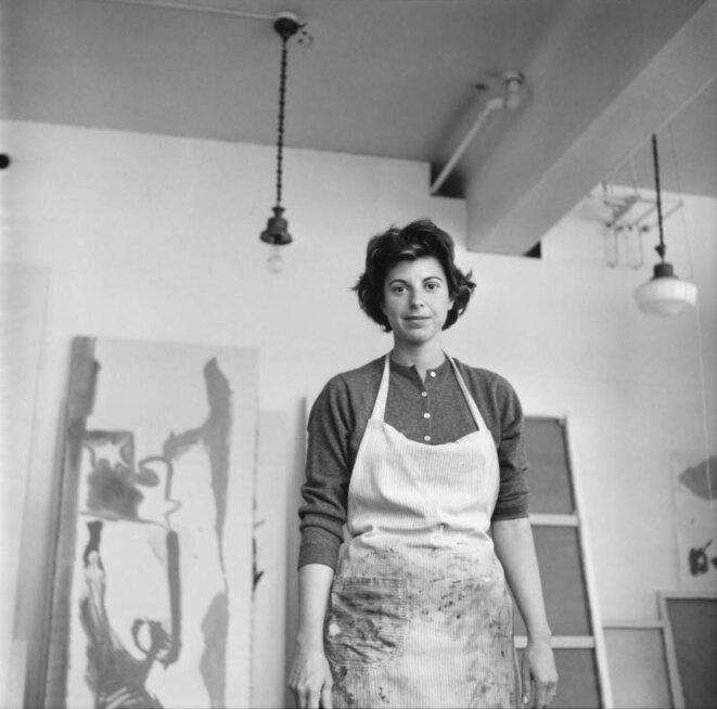 Helen Frankenthaler en 1961