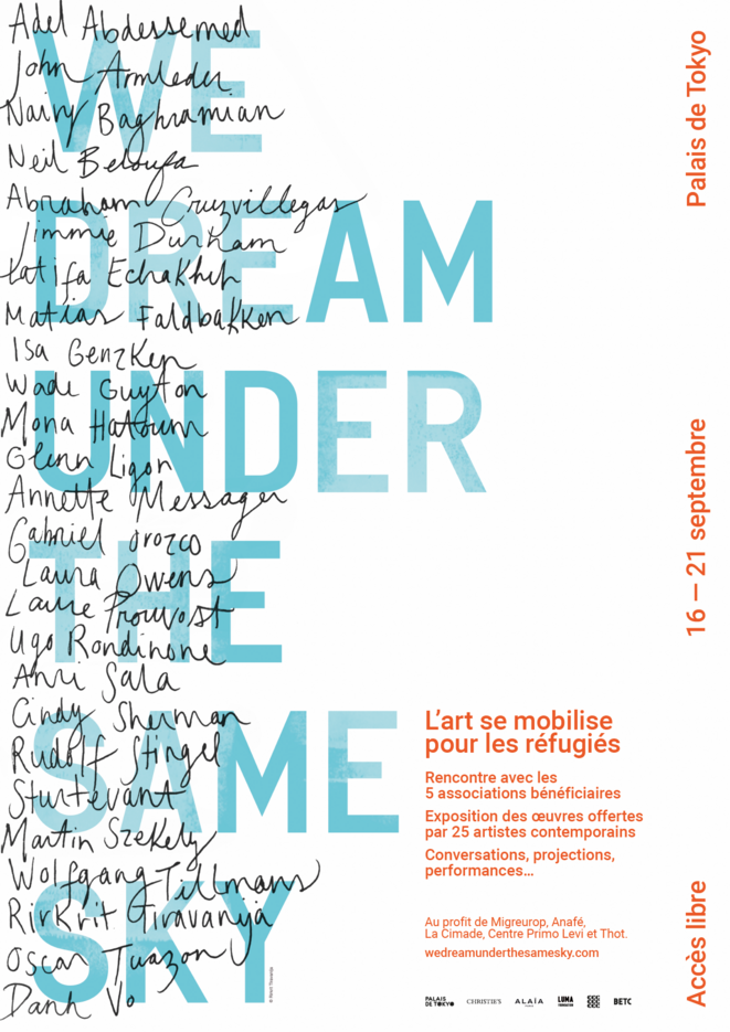 Affiche We dream under the same sky 2