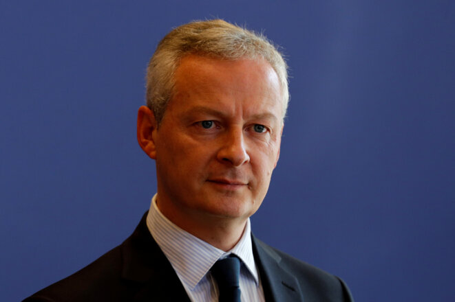 The man behind the initiative: Bruno Le Maire, France's minister for the economy and finances. © Reuters