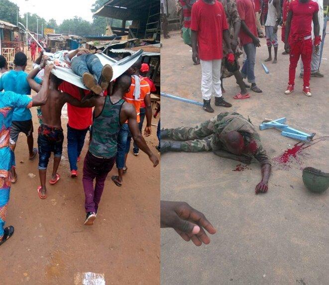 Une escalade dangereuse :  la violence récurrente des forces de l'ordre entraîne parfois la riposte des manifestants