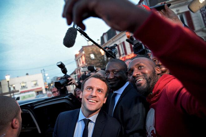 Macron , campagne Présidentielle 2017