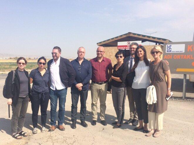 Notre délégation à la prison de Sincan