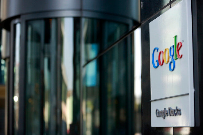 La sede de Google en Dublín, Irlanda. © Reuters